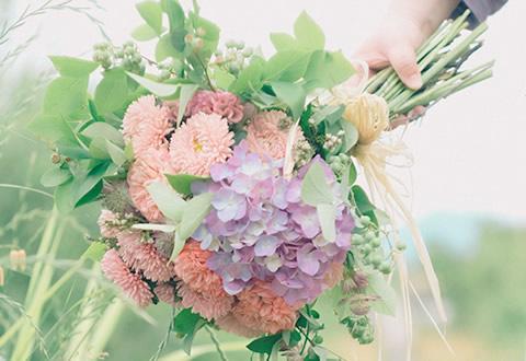 日常に花を tous les jours + fleur