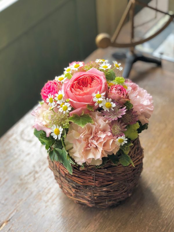 《Fresh Flower》数量限定!    鳥の巣Arrangement
