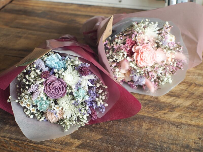 《Preserved Flower》数量限定! Preserved flower bouquet