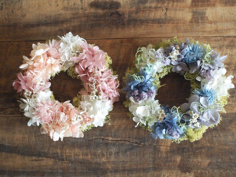 《Preserved Flower》数量限定! Preserved flower wreath